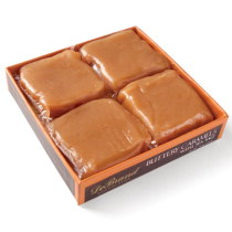 Buttery Caramels with Sea Salt 4 pc. Box