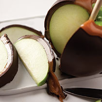 Giant Caramel Apple Dark Chocolate