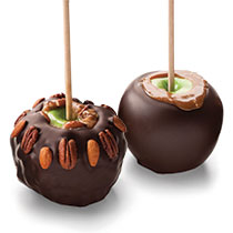 Giant Caramel Apple Party Set Dark Chocolate