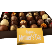 24 pc. Truffle Collection with Mother's Day Bar Popular Assortment