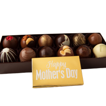 12 pc. Truffle Collection with Mother's Day Bar Popular Assortment