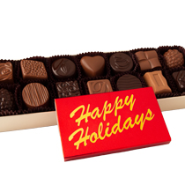 14 pc. Classic Collection with Happy Holidays Bar