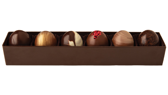 6 pc. Truffle Collection Popular Assortment