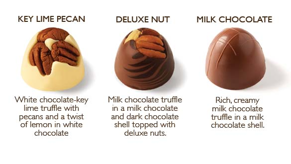 12 pc. Truffle Collection Popular Assortment