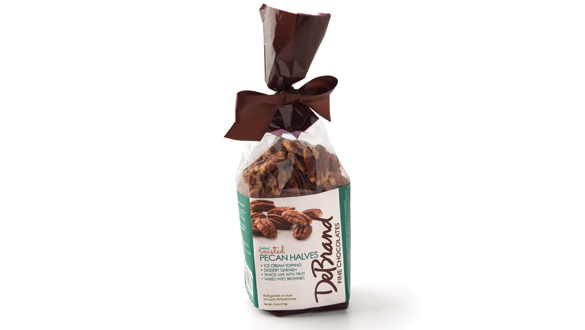 Roasted Pecan Halves 7.6 oz Bag