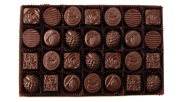 28 pc. Classic Collection All Dark Chocolate