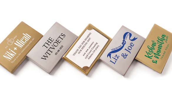 Event Chocolate Thoughts™ Bars With Notecard