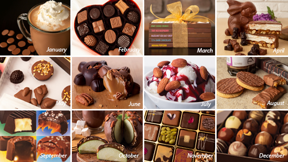 Chocolate of the Month 12 Months