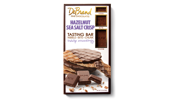 Tasting Bar Hazelnut Sea Salt Crisp