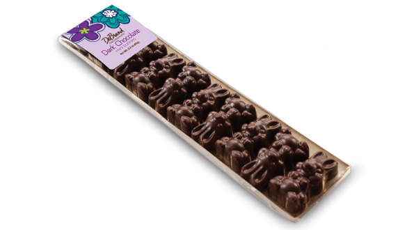 Mini Bunnies Pkg. of 10 - Dark Chocolate