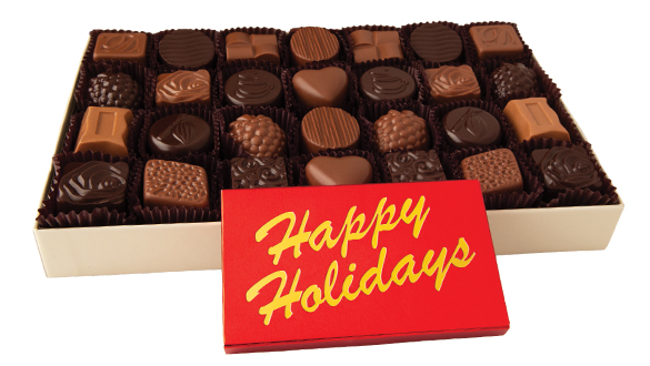 28 pc. Classic Collection with Happy Holidays Bar
