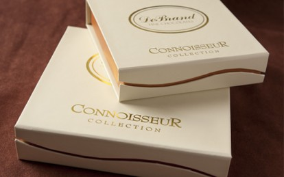 DeBrand Fine Chocolates known for first class packaging