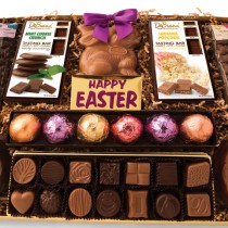 <h4>Easter Tray</h4>Enjoy one of our many Easter items during this holiday season! Specialty items include our Rocky Road Egg, DeBrand Bunnies, Mini Bunnies, Easter Truffles, and an Easter Chocolate Thought Bar