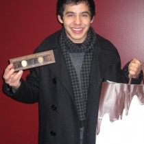 <h4>David Archuleta</h4>David Archuleta with the Faces of the World Collection after a concert hosted by MAJIC 95.1.