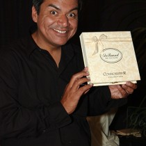 <h4>George Lopez</h4>Comedian George Lopez enjoys the Connoisseur Collection.