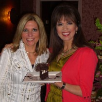 <h4>Marie Osmond & Cathy Brand-Beere</h4>Marie Osmond & Cathy Brand-Beere at DeBrand Corporate Headquarters.