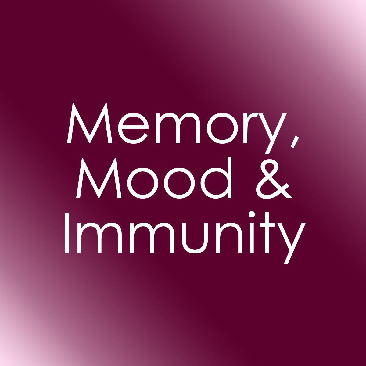 Mood, Mood & Immunity
