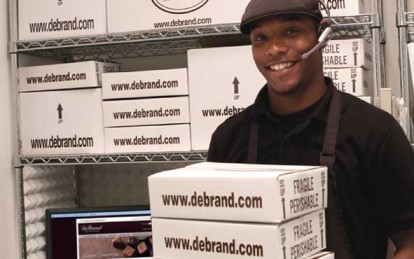 DeBrand Fine Chocolates known for excellent customer service