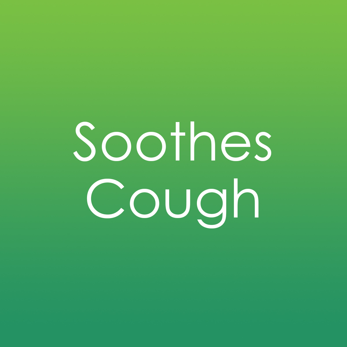Soothes Cough